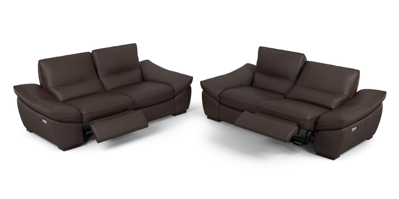 designer funktionssofa leder sofagarnitur ledercouch garnitur polstergarnitur ebay. Black Bedroom Furniture Sets. Home Design Ideas