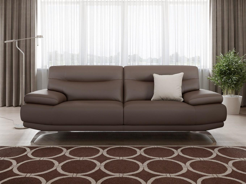 leder sofagarnitur zweisitzer couchgarnitur ledercouch polstergarnitur modern ebay. Black Bedroom Furniture Sets. Home Design Ideas