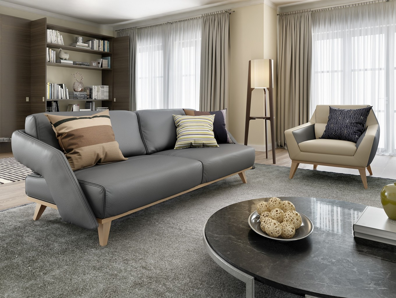 designer ledersofa zweisitzer leder couch garnitur holz buche polstergarnitur ebay. Black Bedroom Furniture Sets. Home Design Ideas