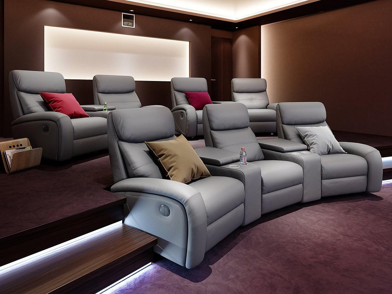 Loveseat Sessel Kino ~  Garnitur Relax Couch TVSofa KinoSessel Fernsehsessel 2er  eBay