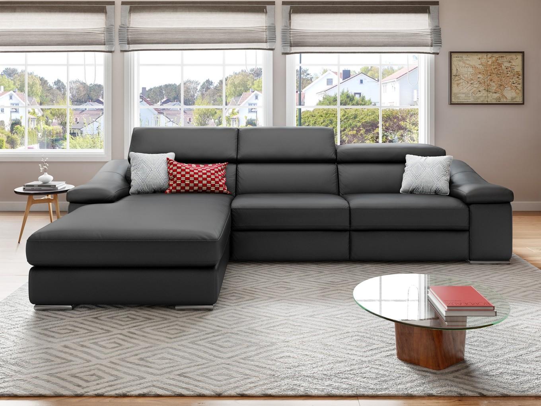 leder couch ecksofa garnitur kino tv funktions sofa relax funktion polsterecke ebay. Black Bedroom Furniture Sets. Home Design Ideas