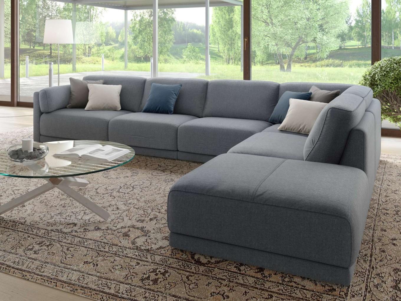 xxl wohnlandschaft stoff ecksofa eckcouch polstergarnitur big couch sofaecke ebay. Black Bedroom Furniture Sets. Home Design Ideas