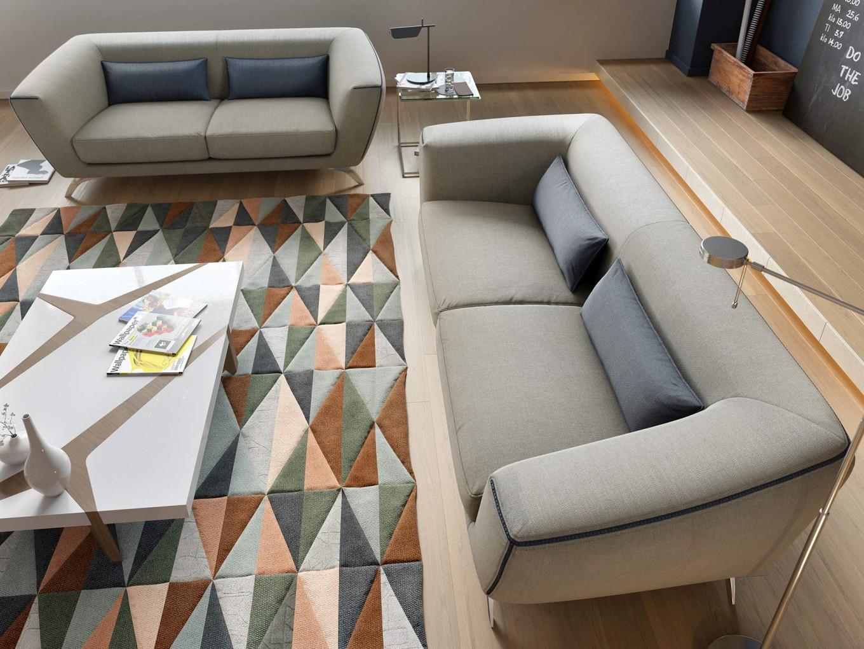 designer stoff sofagarnitur couchgarnitur 2 sitzer sofa. Black Bedroom Furniture Sets. Home Design Ideas
