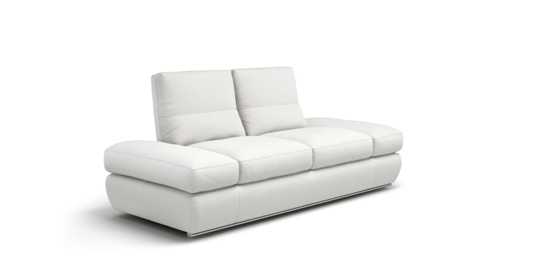 Designer Sofa Ledersofa Ledercouch Couch Garnitur Sofagarnitur 2er ...