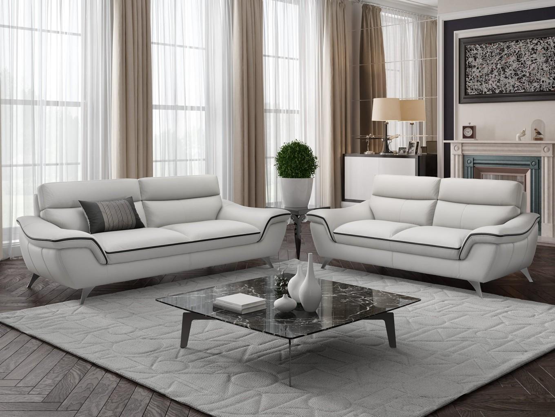 leder sofa garnitur ledercouch couchgarnitur polstergruppe sitzgruppe 2 sitzer ebay. Black Bedroom Furniture Sets. Home Design Ideas