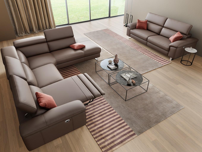 Funktionscouch stoff sofa couch polstergarnitur 2 sitzer for Ecksofa 7 sitzer