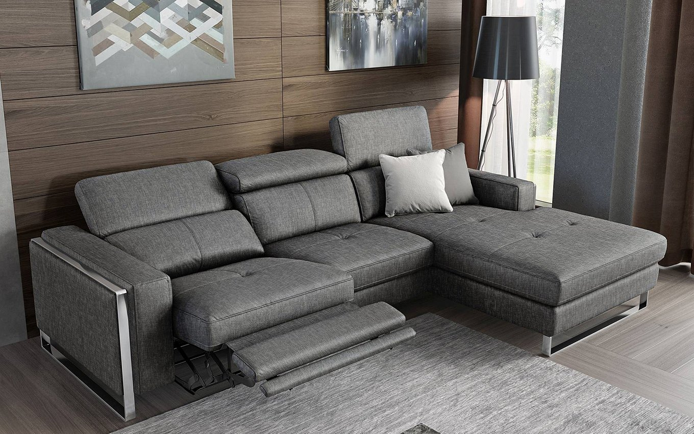 design funktionssofa ecksofa eckcouch relax garnitur stoff. Black Bedroom Furniture Sets. Home Design Ideas